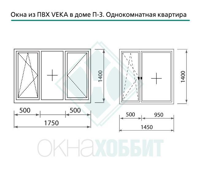 Схема и обозначения пластиковой балконной двери. - двери окн.